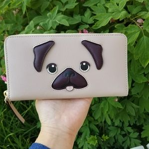 Kate Spade Year of the Dog Puppy Neda Wallet